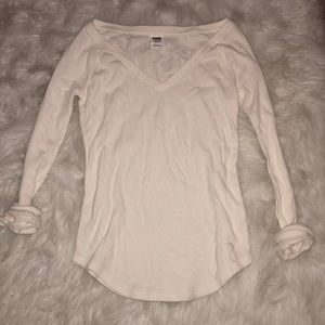 never worn VS PINK layering thermal long sleeve
